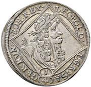 ¼ Thaler - Leopold I (St Veit) -  obverse