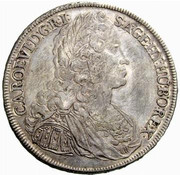 1 Thaler - Karl VI (Vienna) -  obverse
