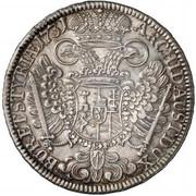 ½ Thaler - Karl VI (Graz) -  reverse