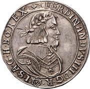 1 Thaler - Ferdinand III (Vienna) -  obverse