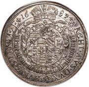 1 Thaler - Leopold I (Graz) -  reverse
