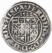 ½ Batzen - Ferdinand I (St Veit) -  obverse