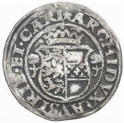 ½ Batzen - Ferdinand I (St Veit) -  reverse