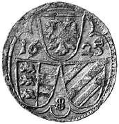2 Pfennig - Ferdinand Ⅱ (St Veit) – obverse