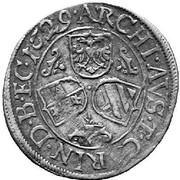 3 Kreuzer - Ferdinand II (St Veit) -  reverse