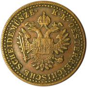 2 Kreuzer - Franz Joseph I -  obverse