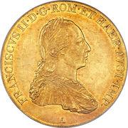 4 Ducat - Franz II – obverse