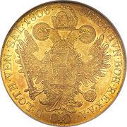 4 Ducat - Franz II – reverse