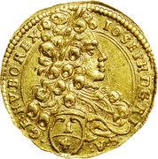 ¼ Ducat - Joseph I (Vienna) -  obverse