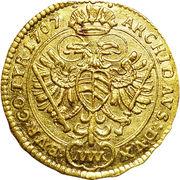 ¼ Ducat - Joseph I (Vienna) -  reverse