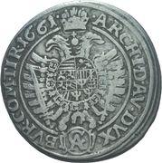 15 Kreuzer - Leopold I (Vienna) -  reverse