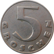 5 Groschen -  reverse