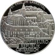 10 Euro (Sankt Paul im Lavanttal) -  reverse