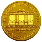 1000 Schilling (Vienna Philharmonic; Gold Bullion Coinage) -  obverse
