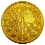 1000 Schilling (Vienna Philharmonic; Gold Bullion Coinage) -  reverse