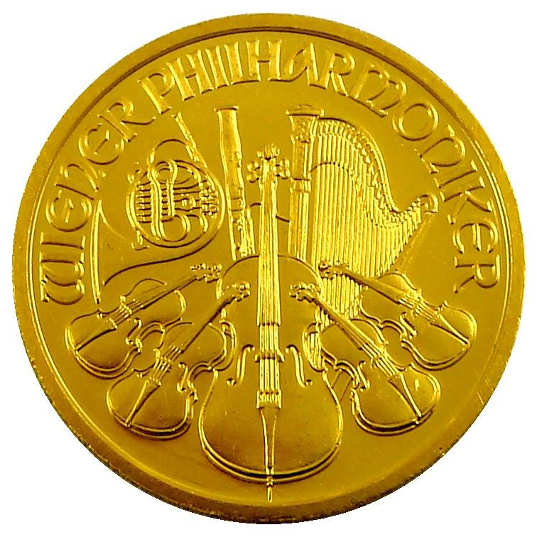 Vienna Philharmonic Gold Coin April 2019