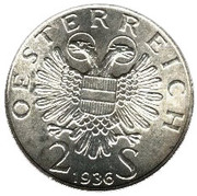 2 Schilling (Prince Eugen of Savoy) -  obverse