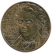 20 Schilling (Johann Nestroy) -  reverse