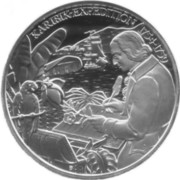 20 Euro (Nikolaus Joseph von Jacquin) -  reverse