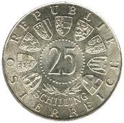 25 Schilling (Mozart) -  obverse