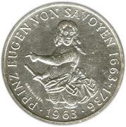 25 Schilling  (Prince Eugen von Savoyen) -  reverse