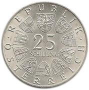 25 Schilling (Franz Grillparzer) -  obverse