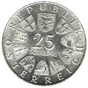 25 Schilling (Ferdinand Raimund) -  obverse