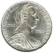 25 Schilling (Maria Theresia) -  reverse