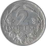 2 Schilling – reverse