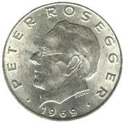 25 Schilling (Peter Rosegger) -  reverse
