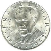 25 Schilling (Franz Lehar) -  reverse