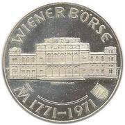 25 Schilling (Wiener Börse) -  reverse