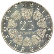 25 Schilling (Wiener Börse) -  obverse
