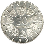 50 Schilling (National Bank) -  reverse