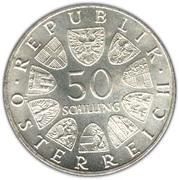 50 Schilling (Dr. Theodor Körner) -  obverse