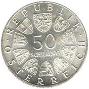 50 Schilling (Franz Schubert) -  obverse