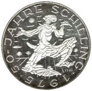 100 Schilling (Schilling) -  reverse