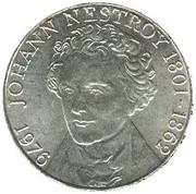 100 Schilling (Johann Nestroy) -  reverse