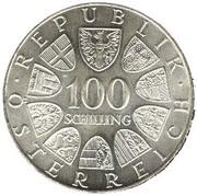 100 Schilling (Kremsmünster Monastery) -  obverse