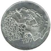 100 Schilling (Festung Hohensalzburg) -  reverse
