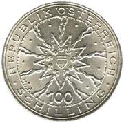 100 Schilling (Schlacht von Dürnkrut) -  obverse