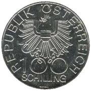 100 Schilling (Dom zu Wiener Neustadt) -  reverse
