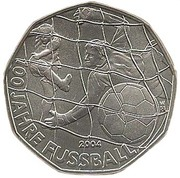 5 Euro (100 Years of Football) -  obverse