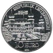 10 Euro (Artstetten Castle) -  reverse