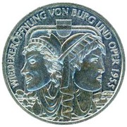 10 Euro (Burg Theater and Opera) -  obverse