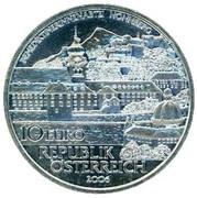 10 Euro (Nonnberg Abbey) -  reverse