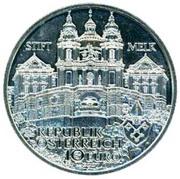 10 Euro (Melk Abby) -  reverse