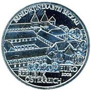 10 Euro (Seckau Abby) -  reverse
