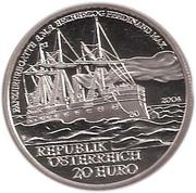 20 Euro (Ferdinand Max) -  reverse
