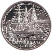 20 Euro (Tegetthoff) -  reverse